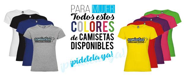 camisetas personalizadas sevilla mujer