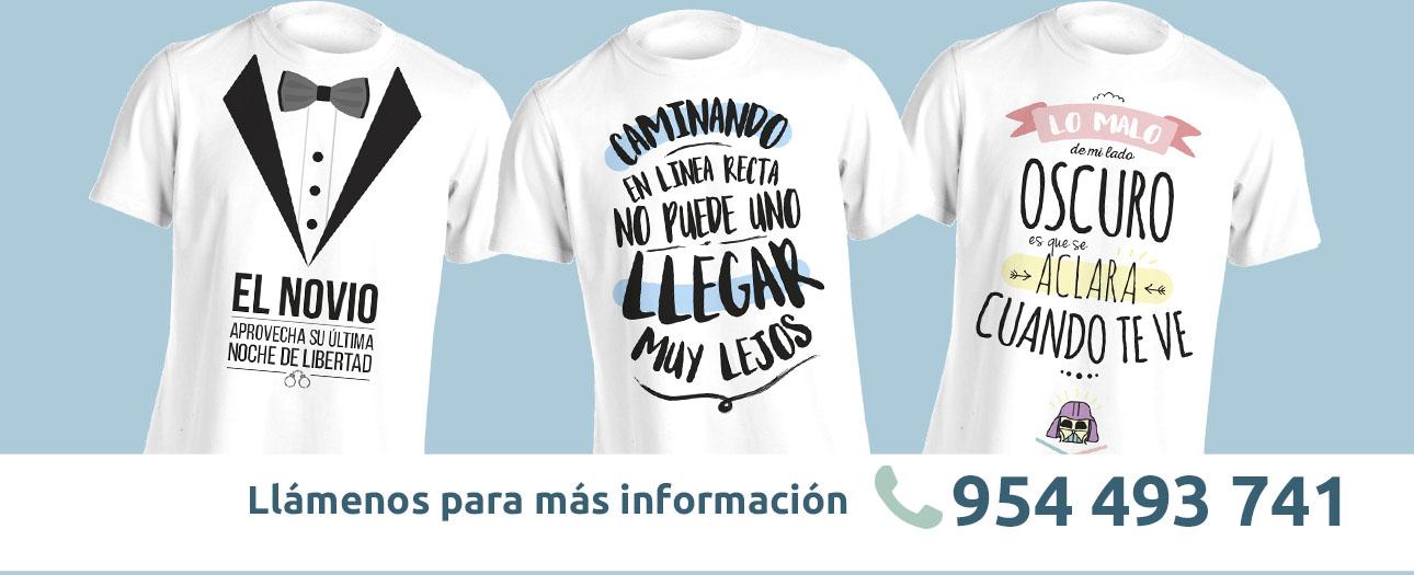 camisetas serigrafiadas sevilla